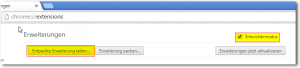 Chrome Extension packen3