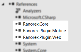 export record ranorex 2